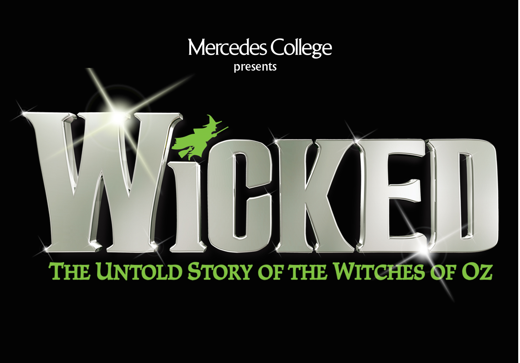 Wicked A6 Postcard Front only